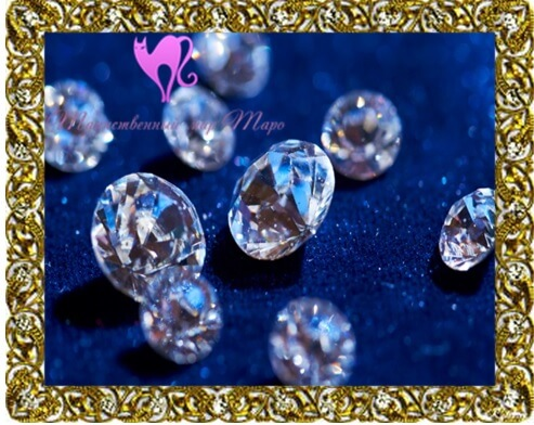 камни талисманы алмаз