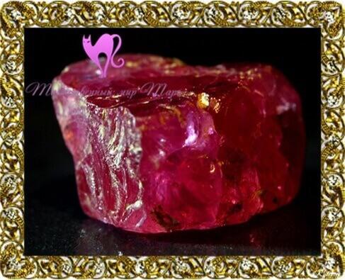 камни талисманы рубин