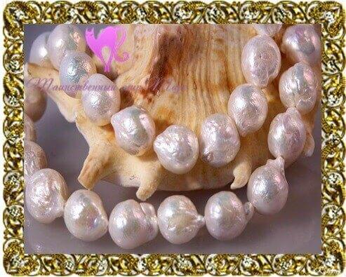 камни талисманы жемчуг